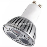 Goedkoopst en Highquality 3X1w High Power LED GU10/MR16/E27 SMD Spotlight LED