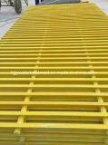 Rejas de Pultruded, rejas Grating/de la extrusión por estirado de la fibra de vidrio de FRP/GRP