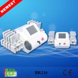 Laser de Lipo del producto más nuevo con la pérdida de peso del laser de Lipo de los diodos de la longitud de onda 528 del laser 4 de 4D Lipo que adelgaza la máquina Br216
