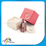 Коробка изготовленный на заказ подарка бумаги лоска косметического упаковывая