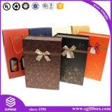 Caixa de empacotamento da roupa luxuosa magnética com Bowknot