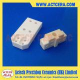 Piezas/componentes de cerámica modificados para requisitos particulares de la estructura productos/Zro2 del Zirconia de la precisión que trabajan a máquina