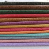 고품질 여주 곡물 PU PVC 핸드백 가죽 (FS703)