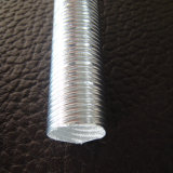 Aluminiumfolie-Glasfaser-Wärme-reflektierende Hülse