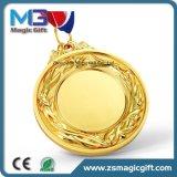Medaille des Großverkauf-fördernde antike kupferne silberne Gold3d