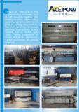 3 Behälter-Kabinendach-Generator der Phasen-50Hz 500kVA 20FT angeschalten von Cummins