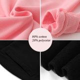 Sportswear feito sob encomenda dos jogos das mulheres da impressão do poliéster da mistura do algodão