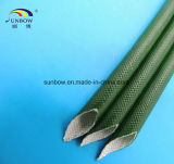 Spannungs-silikonumhülltes Fiberglas des Ausbruch-1500V, das für industrielles Geräten-Isolierung Sleeving ist