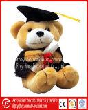 Jouet de koala de peluche avec la robe longue de graduation, docteur Hat