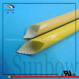Изоляция стеклоткани полиуретана Reistance износа высокотемпературная Sleeving для проводки провода