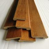 Accessori solido della pavimentazione e modanatura di legno della punta della scala del MDF
