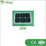 Панель солнечных батарей фабрики 30W 18V Sunpower высокой эффективности гибкая