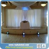 결혼식 배경막 관은 장비 까만 강관 혁신적인 시스템을 주름잡아 드리운다
