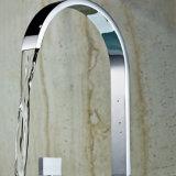 Spuiten van de Waterval van het Handvat van de Tapkraan van de Badkuip van de Badmat van Flg het Dubbele 3PCS