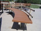 고아한 WPC 정원 벤치
