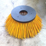 Cepillo amarillo del rodillo de los PP para la máquina del barrendero de camino (YY-209)