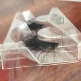 pestañas falsas gruesas de los latigazos hechos a mano del pelo del visión 3D