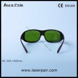 Occhiali di protezione di protezione degli occhiali di protezione di trasmissione 10% IPL dell'indicatore luminoso visibile per la macchina di IPL con pagina 33