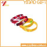 Colore Mixed braccialetto di gomma del silicone e di Wrisband (YB-HD-190)