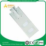 Fuente 20W todo del fabricante en una luz de calle solar con el sensor de PIR