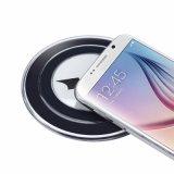 Rilievo del caricatore del capitano American Qi Standard Wireless dei vendicatori per il rilievo di carico senza fili della galassia S7 S6 di Samsung