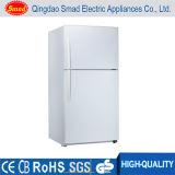 A geada doméstica da porta dobro do refrigerador do aço inoxidável livra refrigeradores