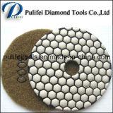 Конкретная полируя смолаа прокладывает пусковые площадки мрамора полируя для точильщика угла