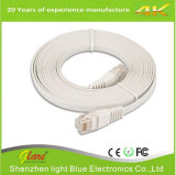 Cable de Ethernet azul del gato 6 del PVC los 6FT del color
