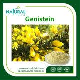 Порошок подачи бестарного материала 98% Genistein, самое лучшее цена чисто Genistein