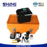Shinho 4 모터 자동적인 접합 및 가열 광섬유  Fusion Splicer
