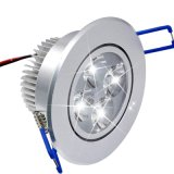 Luz Recessed lâmpada do ponto do teto do diodo emissor de luz de Downlight do teto