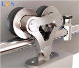 Шикарная деревянная раздвижная дверь с более допустимый ценой (LS-SDS-505)
