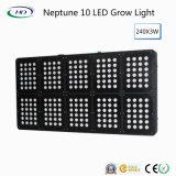 O diodo emissor de luz 240X3w de Netuno 10 cresce claro para plantas médicas