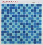Prezzo poco costoso 4USD del mosaico di vetro blu del PUNTINO per m2