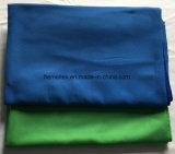 Microfiberのタオルまたはクリーニングタオルか布またはスエード