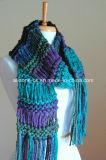 Bufanda Hand Knitted de encargo de la nueva manera del diseño 2016