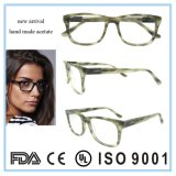 Populäre neue Art-Azetat Eyewear Brille-optischer Rahmen