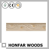Coroa de madeira que molda para o material decorativo