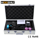Hoozhu Hu33 Equipamento de mergulho Max 4000lm Waterproof 120m Canister Diving Light
