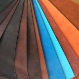 2017 маслообразная и Waxy кожа сумки софы мебели PVC PU