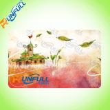 Tamanho em branco Cr80 do cartão da identificação do PVC