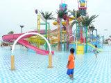 Скольжение воды стекла волокна парка атракционов