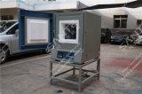 fornalha de resistência da caixa do forno de mufla do laboratório de 1300c 200X300X120mm