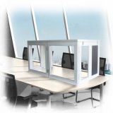 Cabine Desktop portátil Sib-S01 da interpretação de Singden