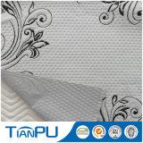 260GSM Poly Knit Tejido Jacquard Laminado con membrana TPU para el protector del colchón