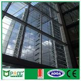 Жалюзиий алюминия регулируемое стеклянное при лезвие сделанное в Шанхай