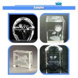 Nueva máquina de grabado cristalina de cristal del laser de la impresión de la foto del estilo 3D