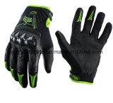 La fibra del carbonio di qualità mette in mostra i guanti per il cavaliere del motociclo (MAG13)