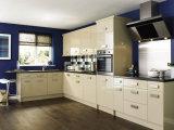 Armadio da cucina di legno di lucentezza della mobilia Acrylic/UV/PETG della casa del Governo di Ritz alto