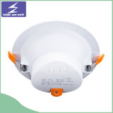 redondo ultrafino LED Downlight ahuecado el panel de 18W 220V